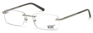Montblanc MB0538 Shiny Palladium