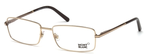 Montblanc MB0578 Shiny Dark Brown