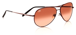 Serengeti Medium Aviator Sunglasses