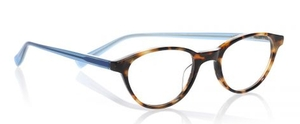 Eyebobs Miss Judged Tortoise Front with Aqua Temples