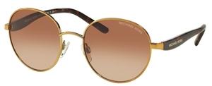 Michael Kors MK1007 SADIE III Gold w/ Smoke Gradient Lenses