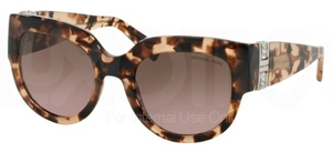 Michael Kors MK2003B VILLEFRANCHE Blush Tortoise w/ Brown Rose Gradient Lenses