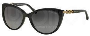 Michael Kors MK2009 Black with Polarized Grey Gradient Lenses