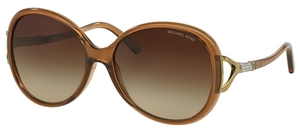 Michael Kors MK2011B SONOMA Milky Brown w/ DK Brown Gradient Lenses