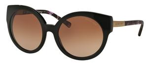 Michael Kors MK2019 ADELAIDE I Black Purple Tort/Gold w/ Brown Gradient Lenses