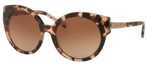 Michael Kors MK2019 ADELAIDE I Blush Tortoise w/ Brown Gradient Lenses