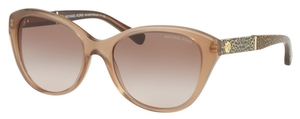 Michael Kors MK2025 RANIA I Milky Taupe w/ Brown Peach Lenses