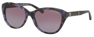 Michael Kors MK2025 RANIA I Purple Tortoise w/ Purple Gradient Lenses