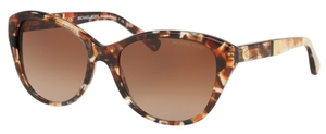 Michael Kors MK2025 RANIA I Tiger Tortoise w/ Brown Gradient Lenses