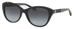 Michael Kors MK2025F Black w/ Light Grey Gradient Lenses