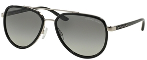 Michael Kors MK5006 PLAYA NORTE Black/Silver w/ Grey Gradient Lenses