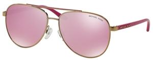 Michael Kors MK5007 HVAR Gold Fuscia w/ Milky Pink Lenses