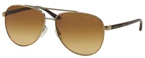 Michael Kors MK5007 HVAR Gold Tortoise w/ Warm Brown Lenses