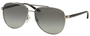 Michael Kors MK5007 HVAR Silver Black w/ Grey Gradient Lenses