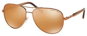 Michael Kors MK5014 SABINA III Copper w/ Orange Flash Lenses