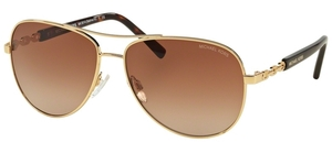 Michael Kors MK5014 SABINA III Gold w/ Brown Gradient Lenses