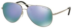 Michael Kors MK5016 KENDALL Silver w/ Purple Mirror Lenses