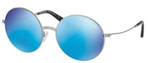 Michael Kors MK5017 KENDALL II Silver w/ Teal Mirror Lenses