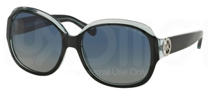Michael Kors MK6004 Black/Blue with Polarized Blue Green Lenses