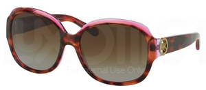 Michael Kors MK6004 TORTOISE/PINK/PURPLE with Polarized Brown Gradient Lenses