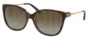 Michael Kors MK6006 MARRAKESH Dark Tortoise w/ Polarized Brown Gradient Lenses