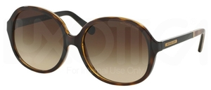 Michael Kors MK6007 DK TORTOISE SNAKE with Dark Brown Gradient Lenses