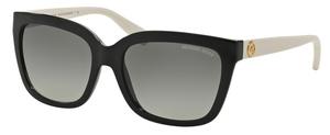 Michael Kors MK6016 SANDESTIN Black Off White w/ Grey Gradient Lenses