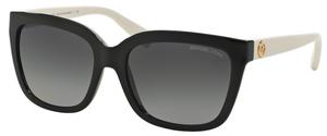 Michael Kors MK6016 SANDESTIN Black Off White w/ POLARIZED Grey Gradient Lenses