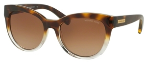 Michael Kors MK6035 MITZI I Tortoise Clear w/ Brown Gradient Lenses