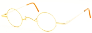 Dolomiti Eyewear Mod A Satin Gold with Clip