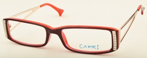 Capri Optics Monica Burgundy