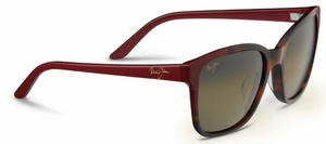 Maui Jim Moonbow 726 Tortoise with Red