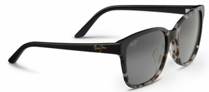 Maui Jim Moonbow 726 White Tokyo with Gloss Black