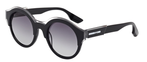 McQ MQ0003S Black with Smoke Gradient Lenses