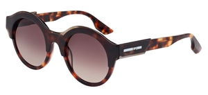 McQ MQ0003S Havana with Brown Gradient Lenses