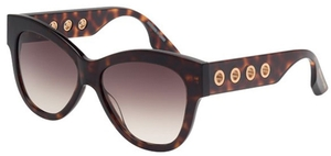 McQ MQ0021S Havana with Gradient Brown Lenses