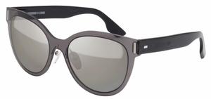 McQ MQ0023S Grey/Black with Silver Mirror Lenses