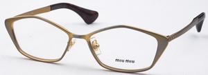 Miu Miu MU 53LV Golden Gunmetal