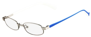 Nike Nike 5566 Satin Silver / Blue / White