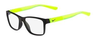 Nike NIKE 5532 (011) Satin Black/Volt