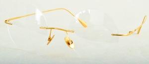 Dolomiti Eyewear ZNK3325 Round 24 Carat Yellow Gold