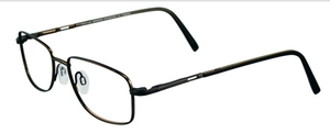 Aspex O1034 Shiny Greenish Brown/Black Temples