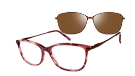 Revolution Eyewear Odessa Burgundy