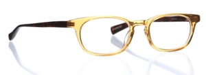Eyebobs On Board Reader 77 - Orange Crystal Front with Brown Tortoise Temples