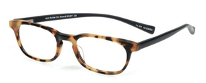 Eyebobs On Board Reader 19 - Tokyo Tortoise Front and Black Rubberized Temples