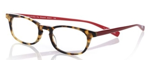 Eyebobs On Board Tort Front with Red Temples