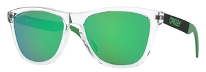 Oakley OO9428 Frogskins Mix Polished Clear / prizm jade