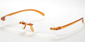 Casa Crystals & Jewelry CRG 2 Orange Reading Glasses