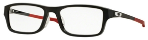 Oakley Chamfer A (Asian Fit) OX8045 Satin Black/Red