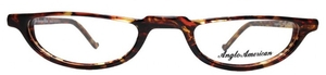Anglo American Oxford Extra Demi Blonde with Amber Havana Temples EXDB/AH